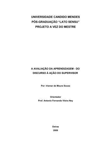 Irismar de Moura Sousa - AVM Faculdade Integrada