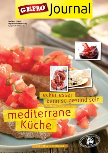 GEFRO Journal 21 - Mediterrane Küche