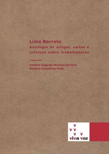 Antologia Lima Barreto-janeiro-2013.p65 - FALE - UFMG