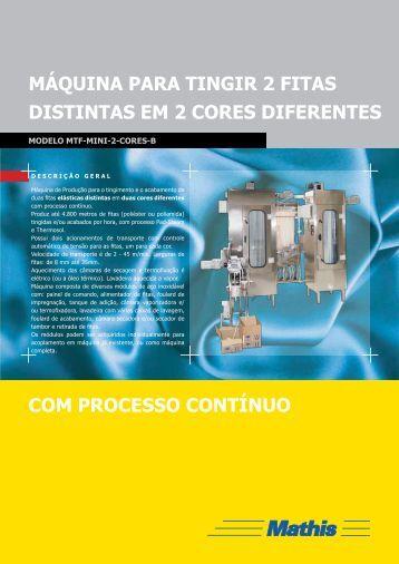 MTF-Mini-2Cores - MATHIS Aparelhos de Laboratório Mathis Ltda