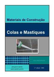 Colas e Mástiques - Universidade Fernando Pessoa