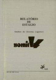 RELATÓRIO D,E ESTAGIo - Repositório Aberto da Universidade do ...