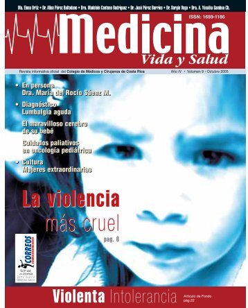 La violencia más cruel - Colegio de Médicos y Cirujanos de Costa ...
