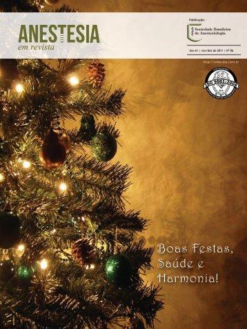 Novembro/Dezembro - Sociedade Brasileira de Anestesiologia