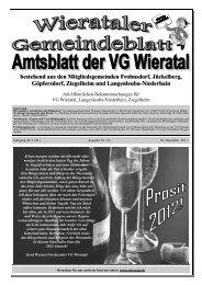 Ausgabe 24/2011 vom 30.12.2011 - Wieratal