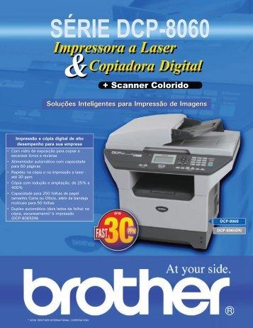 Catálogo DCP8065DN - Brother