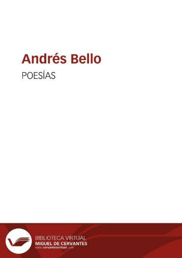 Introducción general a las obras completas de Andrés Bello