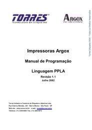 Impressoras Argox - JN Moura Informática