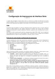 Configuração de Impressoras de Interface Série - itBase