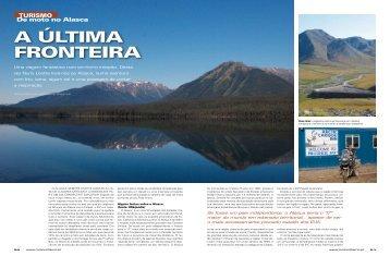 Alaska: A Última Fronteira – Revista Motociclismo - ToursRus