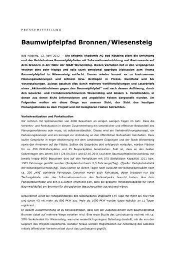Baumwipfelpfad Bronnen/Wiesensteig - Stadt Wiesensteig