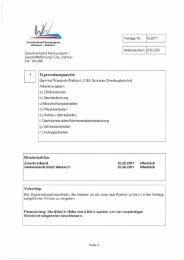 Vorlage Zweckverband 6/2011 - Wiesloch