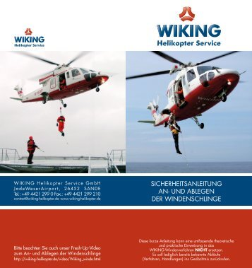 Helikopter Service - WIKING Helikopter Service GmbH