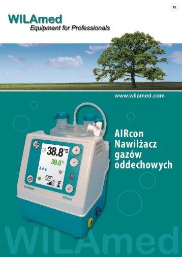 AIRcon Nawilżacz gazów oddechowych www.wilamed.com