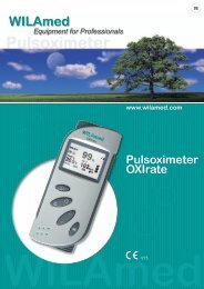 Pulsoximeter OXIrate - WILAmed