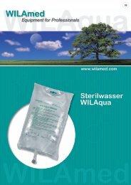 Sterilwasser WILAqua - WILAmed