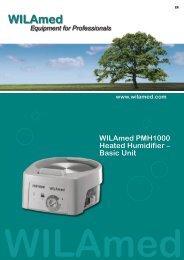 WILAmed PMH1000 Heated Humidifier – Basic Unit