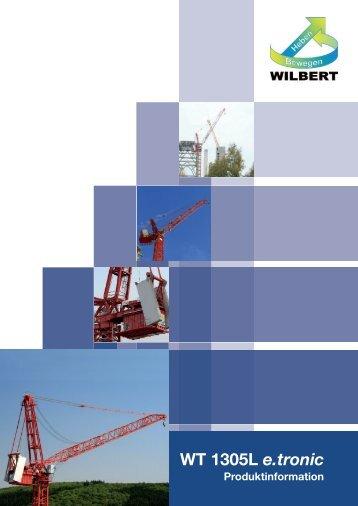 Download Broschüre WT 1305L e.tronic - Wilbert Kranservice GmbH