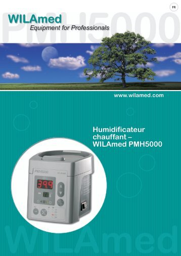 Humidificateur chauffant – WILAmed PMH5000