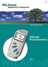 OXIrate Pulsióximetro www.wilamed.com
