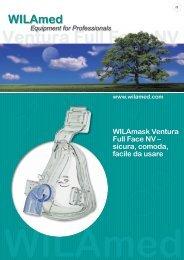 WILAmask Ventura Full Face NV – sicura,  comoda, facile ... - WILAmed