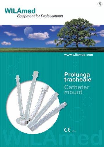 Prolunga tracheale Catheter mount www.wilamed.com