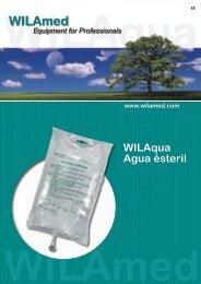 WILAqua Agua ésteril - WILAmed