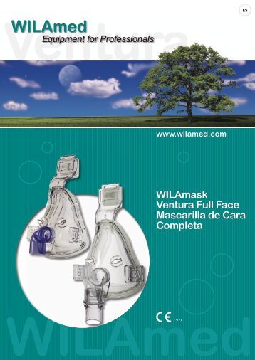 WILAmask Ventura Full Face Mascarilla de Cara Completa - WILAmed