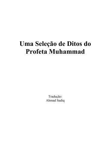 Uma Seleção de Ditos do Profeta Muhammad
