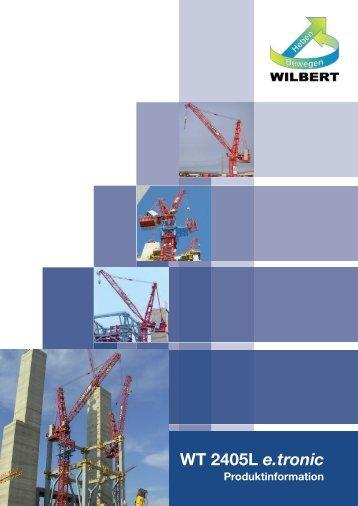 Download Broschüre WT 2405L e.tronic - Wilbert Kranservice GmbH