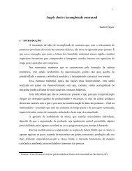 Supply chain e incompletude contratual - Systemas - Revista de ...