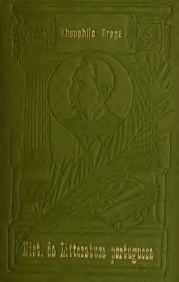 Historia da litteratura portugueza [recapitulação]