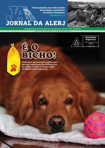 Jornal da Alerj - Assembléia Legislativa do Estado do Rio de Janeiro