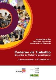 Caderno de Trabalho – Região Centro-Oeste (Campo Grande