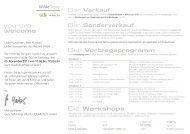 you are welcome Die Workshops - Wilde Cosmetics GmbH