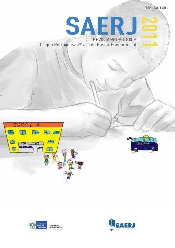 Língua portuguesa 9º ano do ensino Fundamental - SAERJ ...
