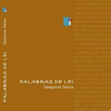 Palabras de Lei - Galeguizar Galicia
