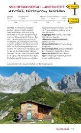Schleierwasserfall - Ackerlhütte - Wilder Kaiser