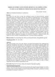 produção teórica em economia regional - das formulações ... - LinkPE