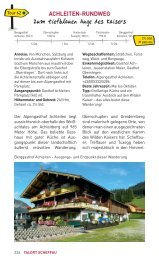 Achleiten-Rundweg - Wilder Kaiser