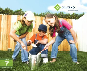 TINTAS GREENFORMANCE - Oxiteno