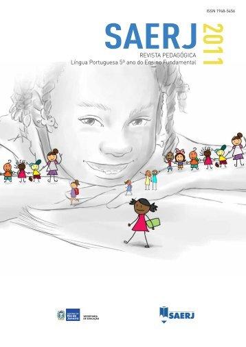 Língua portuguesa 5º ano do ensino Fundamental - SAERJ ...