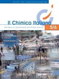 Il Chimico Italiano - Consiglio Nazionale dei Chimici