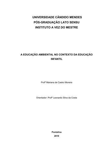Elza Maria da Cruz Silva - AVM Faculdade Integrada