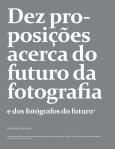 Dez proposições sobre a fotografia do futuro - Dobras Visuais - Page 3
