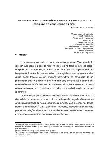 Direito e Budismo - Revista Direito Deriva