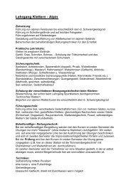 Lehrgang Klettern - Alpin - Wilder Kaiser