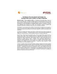 SunEdison Anuncia Venda de Projetos de Energia Solar para a ...