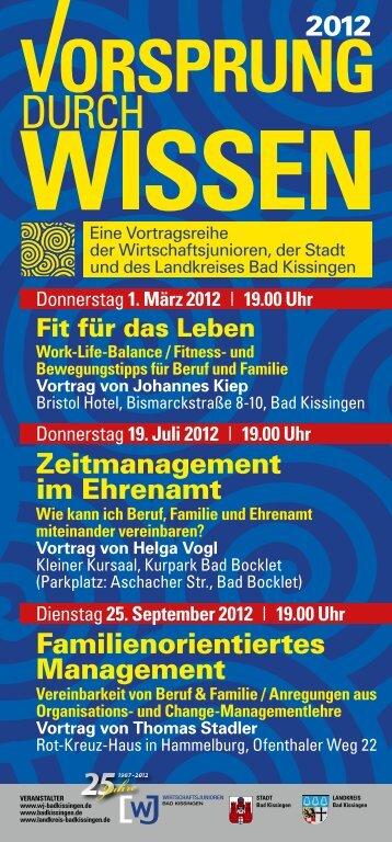 2012 Zeitmanagement im Ehrenamt Familienorientiertes Management