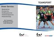 TEAMSPORT - Walser Sport